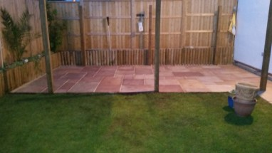 Landscaping pointing up and finishing touches 2