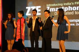 ZTE Launched 6 smartphone and 4 smartcards in India