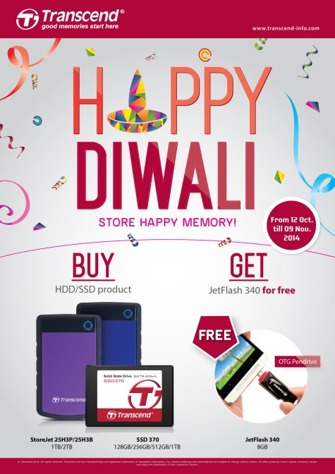 Transcend Diwali campaign