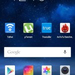 HomeScreen of EMUI in Huawei Honor 4X
