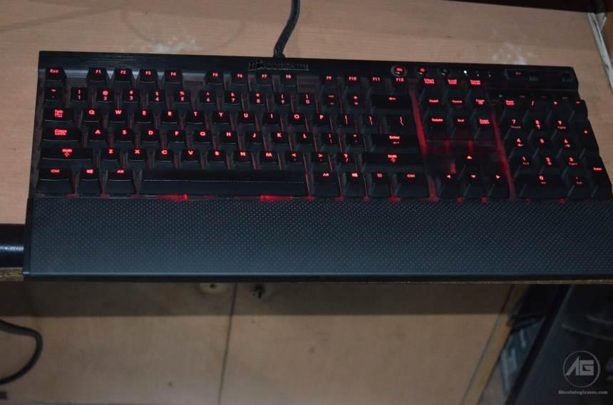 Corsair K70 Red