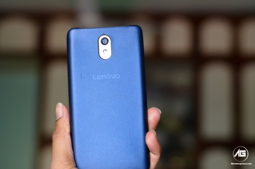 Lenovo Vibe P1m Rear with Cover