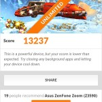 Asus Zenfone Zoom Ice Storm Unlimited Score