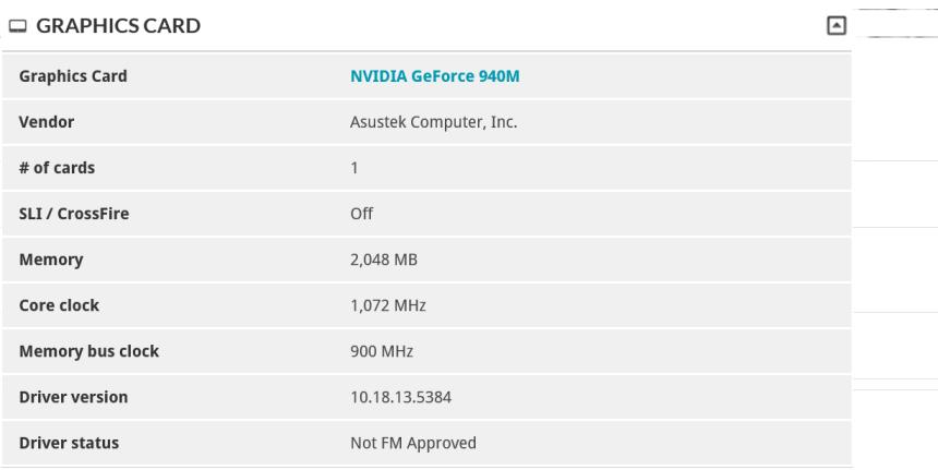 Asus Zenbook UX303 Config