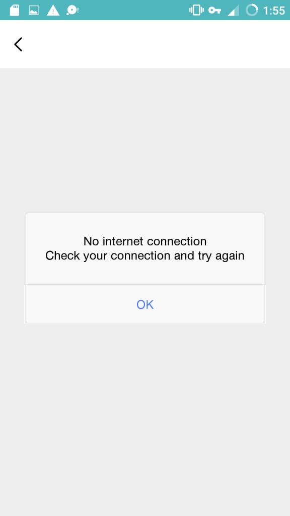 MyJio App Error