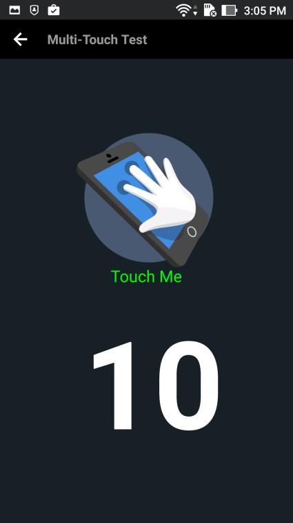 Asus Zenfone 3 Laser Touch Score