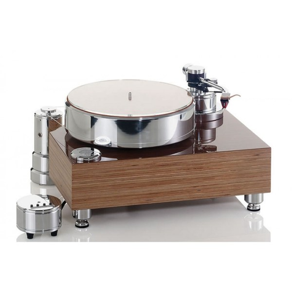 Acoustic Solid Wood Turntable