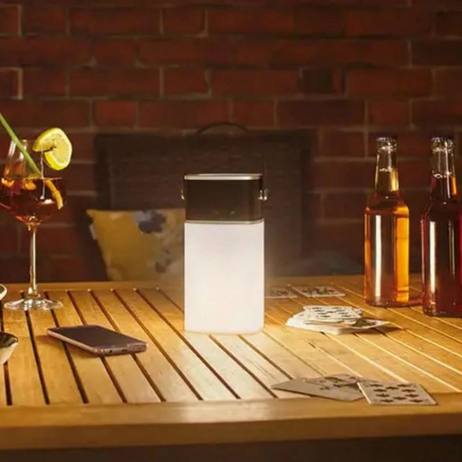 Paulmann Clutch, Portable Outdoor Bluetooth Speaker and Light in One