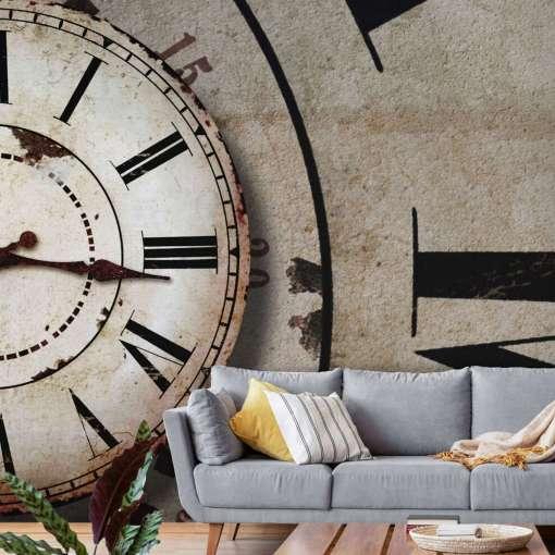 Vintage Timekeeper Wall Mural, 300 x 280cm