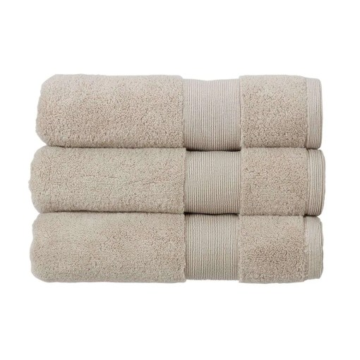 Living by Christy Carnival Towel Pebble, 70 x 125cm