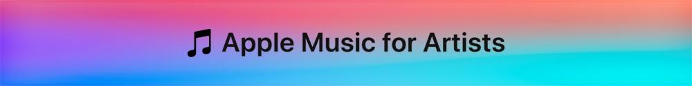 Apple Music for Artists Banner