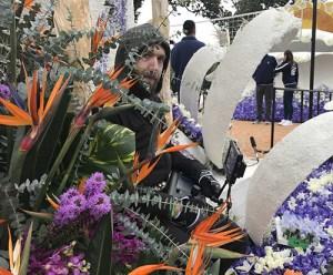 JVC PTZ robotic camera Rose Parade
