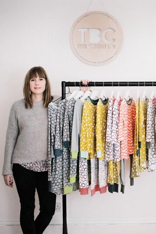 Alienor Falconer kids pyjama designer