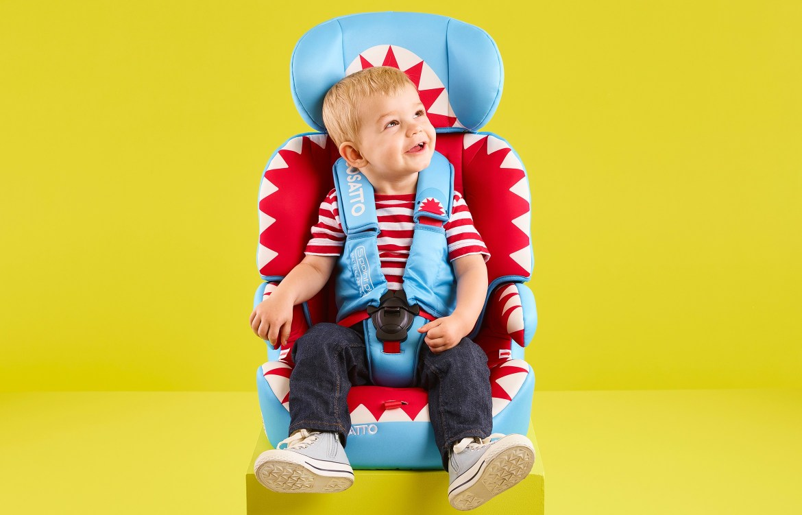 wriggle-proof car seat