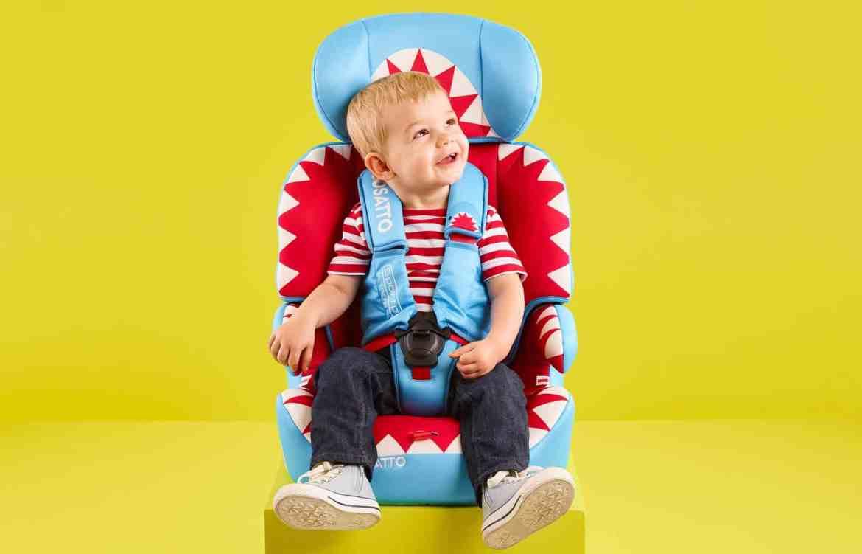 wriggle-proof car seat