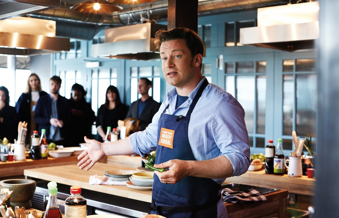 Jamie Oliver's new cookery school