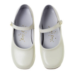 Button Strap Slippers £55; rachelriley.co.uk