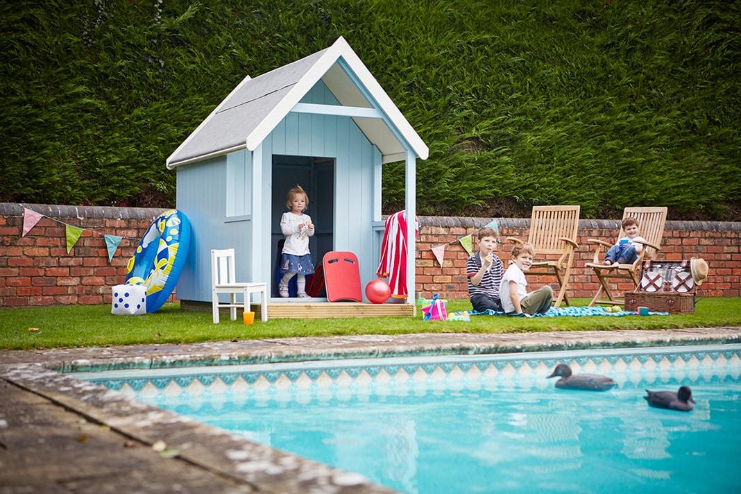 beach hut at home