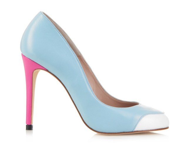 1 MAYFAIR BABY BLUE WITH PINK HEELS copy 2