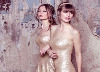 Glamour girls: bridesmaid gowns your A-team will love