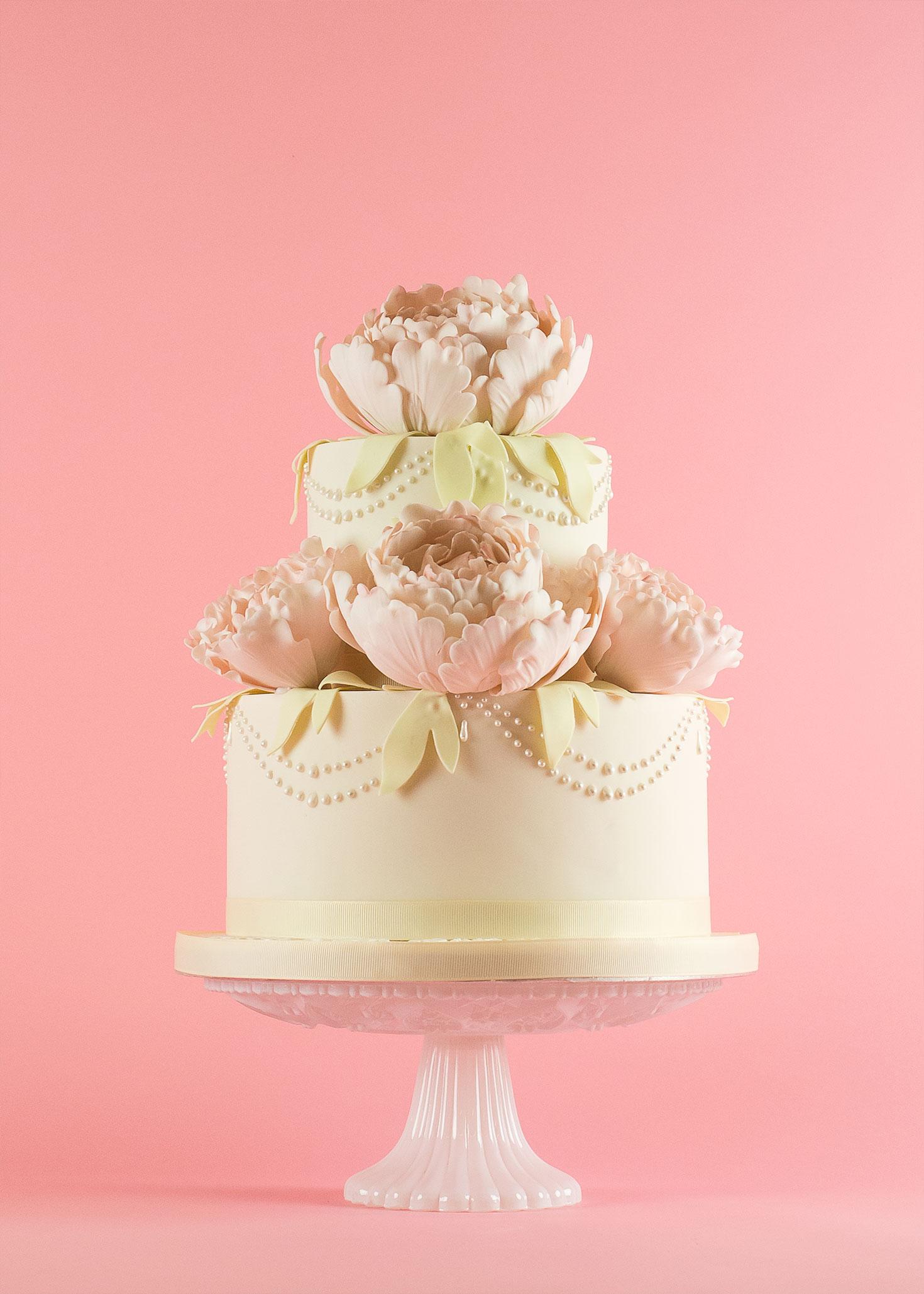 Sweet paradise: eight favourite designer wedding cakes