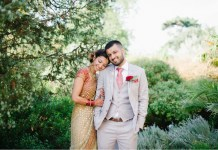 Real wedding: Garden paradise at Kew