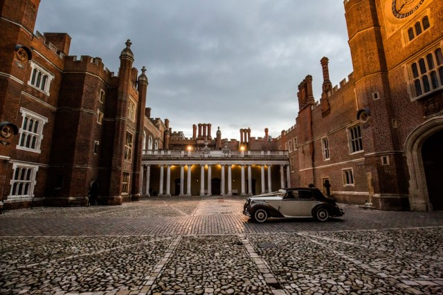Venue spotlight: Celebrate your wedding in palatial style at Hampton Court Palace