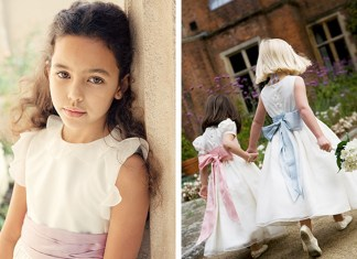 Expert answer: Little Bevan on creating perfect bespoke bridesmaid and flower girl outfits
