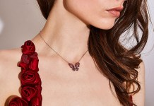 Gismondi1754 and Catherine Walker collaborate with limited-edition Butterfly necklace