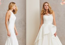 Caroline Castigliano previews the Celebrating Romance 2018 bridal collection