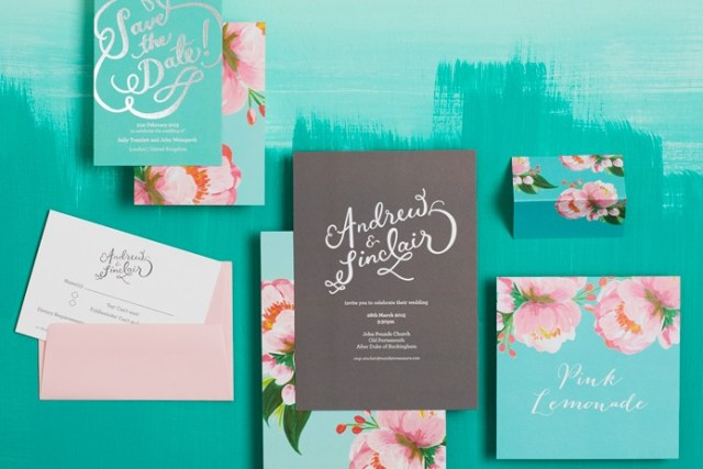 Wedding stationery: Party on!