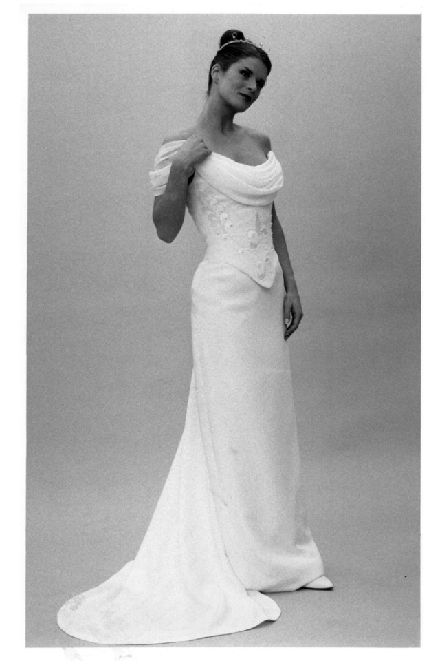 1990s Fashion Moment: Stephanie Allin's bridal separates
