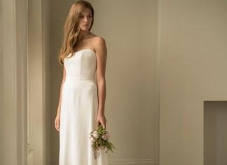 Bridal trend: Sleek dressing for wedding-day glamour