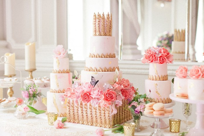 Perfect finish: Gorgeous wedding cakes for the perfect party centrepiece