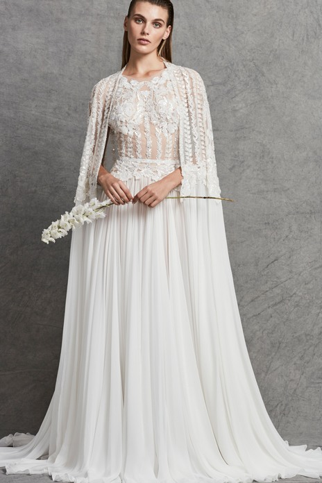 Bridal trend: Join the cape crusade with our pick of gorgeous coverups