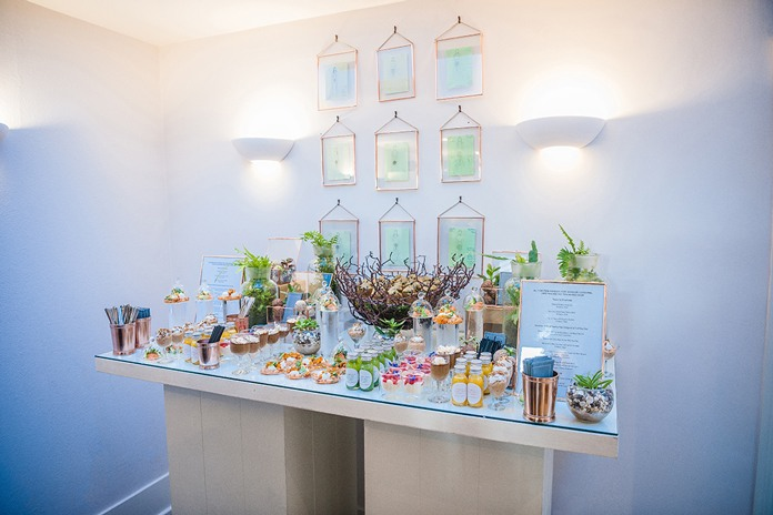 Lavender Green offers a fabulous floral space for wedding parties