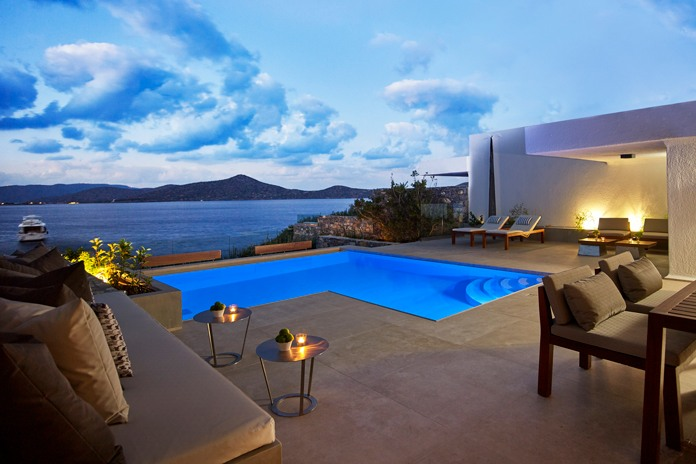 Cretan glamour at the Elounda Peninsula