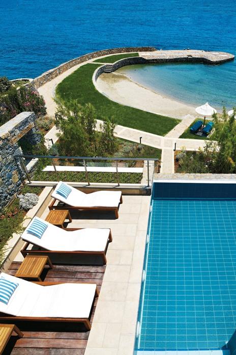 Cretan glamour at the Elounda Peninsula