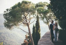Real wedding: Paradise party in Chianti