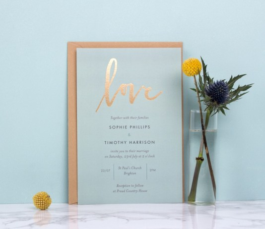 Wedding stationery: 8 inviting ideas
