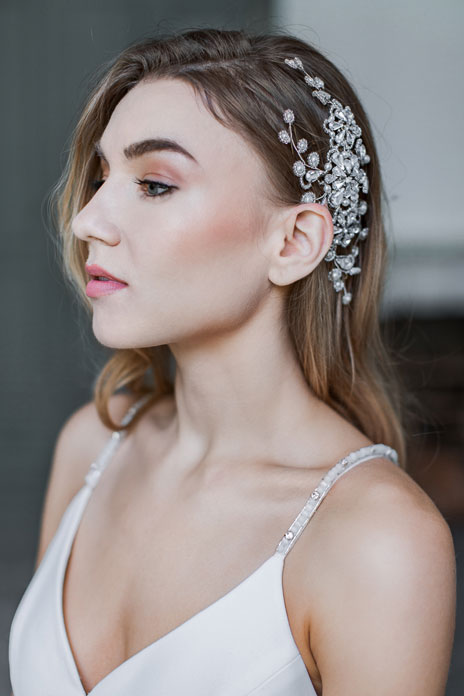 Crowning glory: Team Glam tips for using wedding day hair accessories