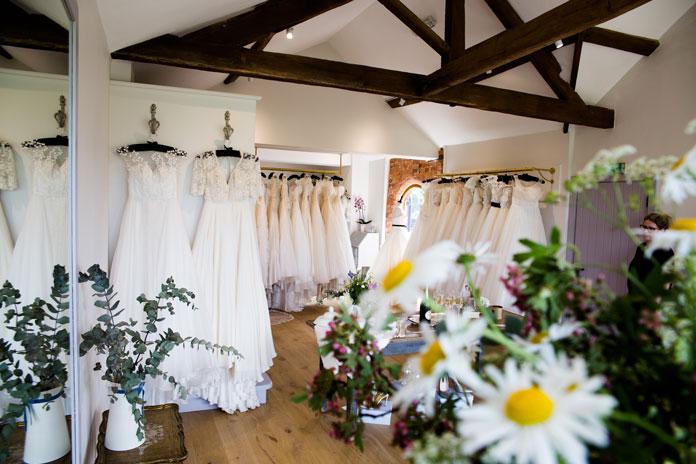New Lyn Ashworth showroom offers romantic bridal shopping