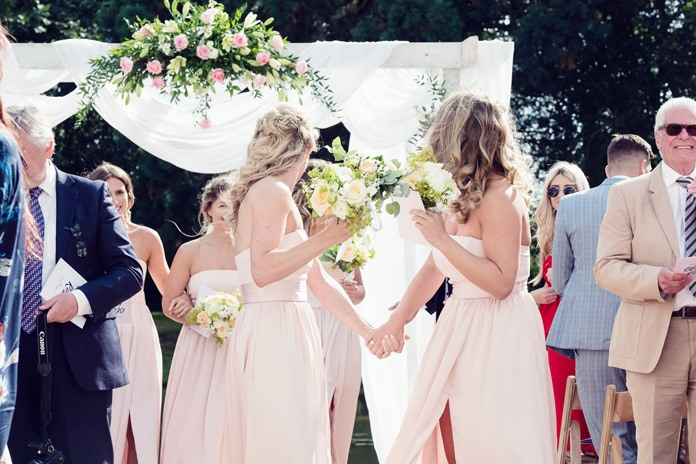 Real wedding: Garden glamour for a summer wedding
