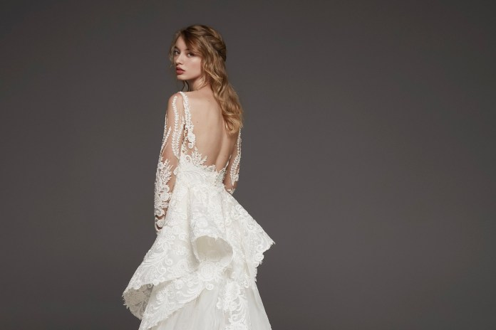 Bridal Trend Fabulous Frills For Wedding Day Glamour