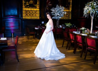 Sassi Holford and ITA Weddings host a glittering winter party