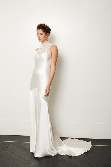 Bridal trend: Sleek line