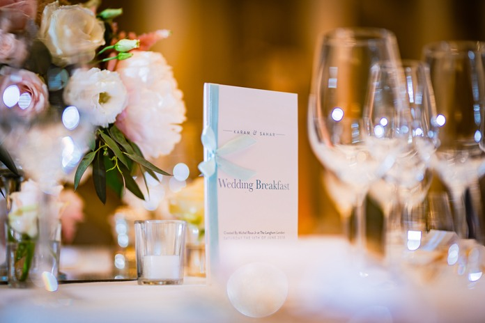 Real wedding: Capital gold at The Langham Hotel