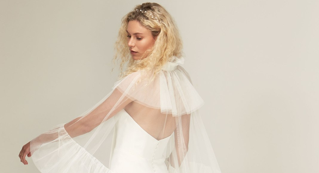 Bridal trend: Join the cape crusade with these cover stars