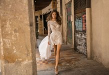 Bridal trend: Short takes