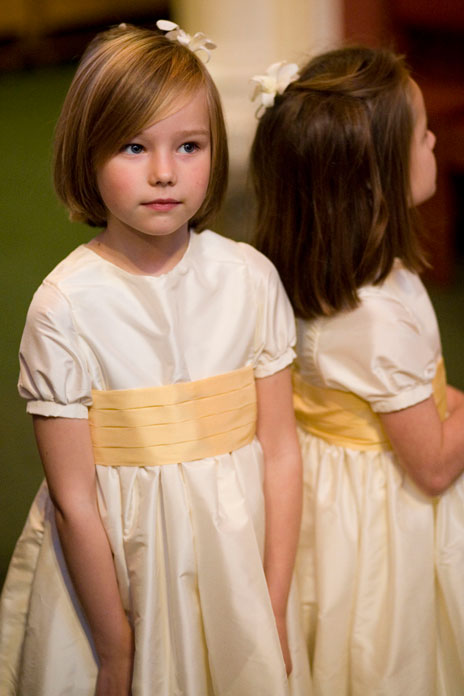 Bridesmaid style: Little angels